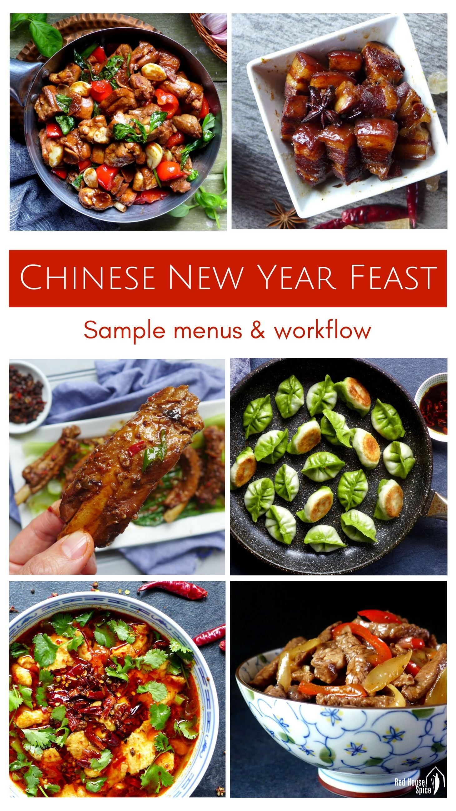 How to prepare a chinese new year feast sample menus
