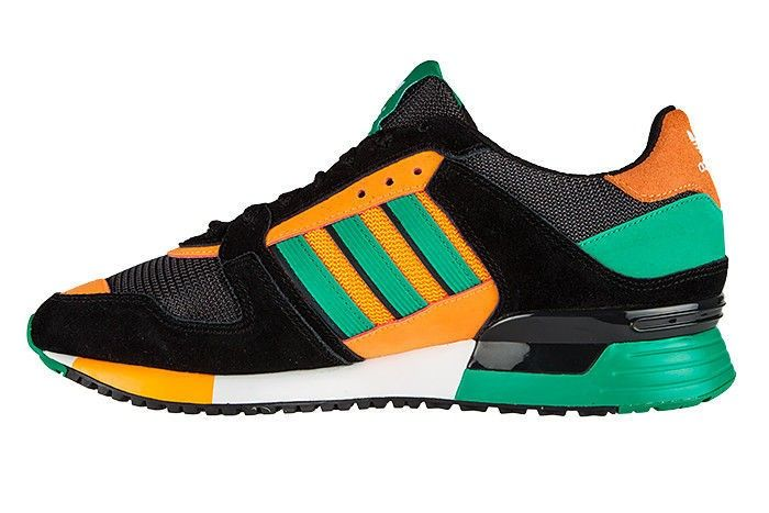 Adidas ZX 630 Mens Running Shoes Athletic Sneakers D67740 Black Orange Green 9fef87371