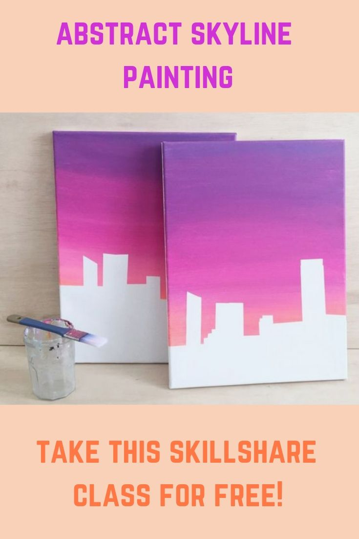 Free Skillshare Membership Trial And Abstract Painting Class