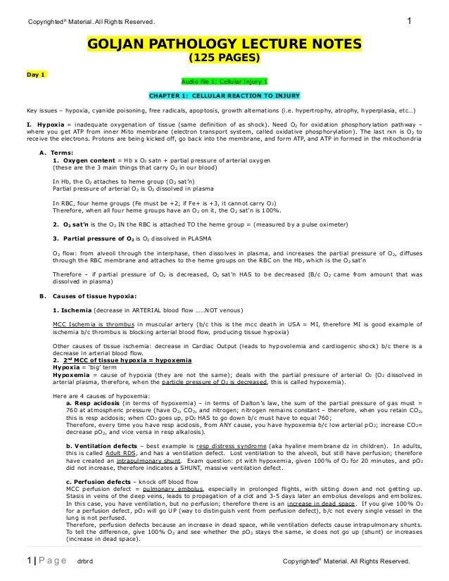 CopyrightedR Material All Rights Reserved 1 GOLJAN PATHOLOGY - technical writer resume sample