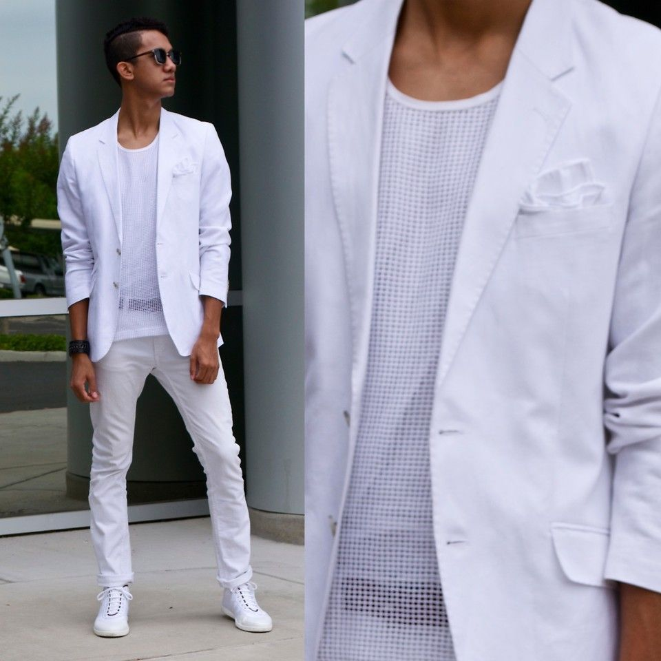 36e06760f2cc8 When you hit an all white party .dress like a boss! | Dresscode ...
