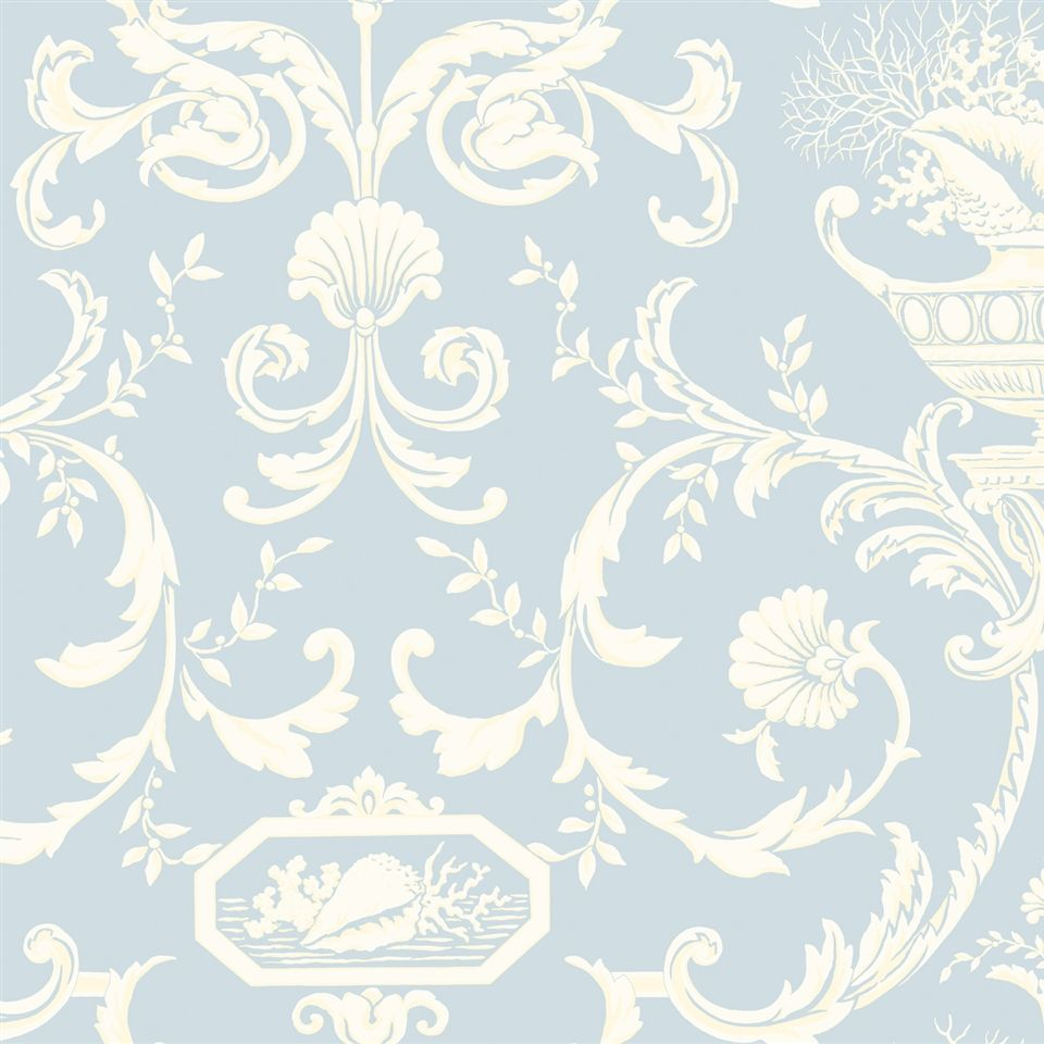 Nh6001 Wallpaper By The Sea Americanblinds Com Damask Wallpaper Shabby Chic Wallpaper Wallpaper