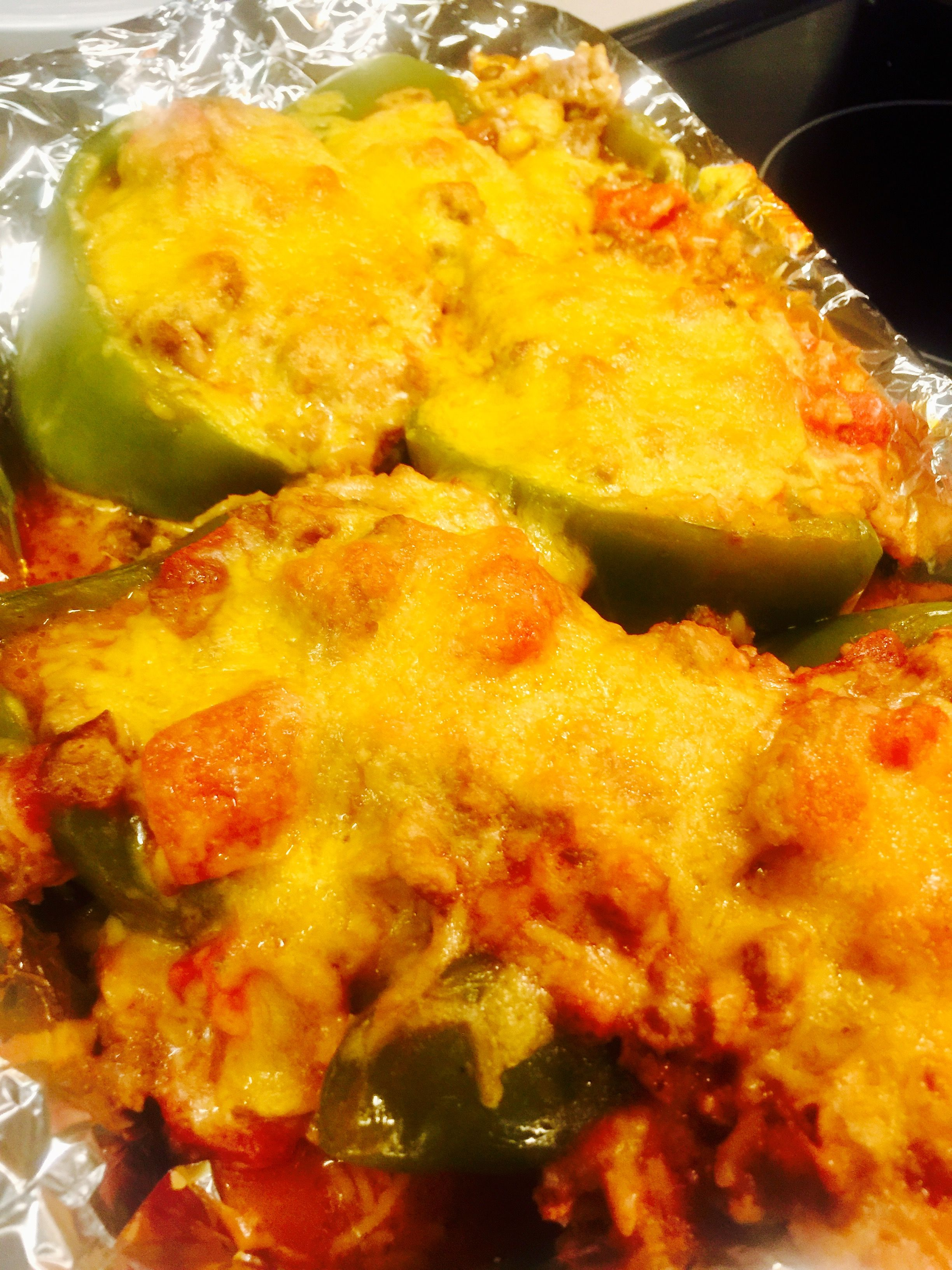 Stuffed Bell Peppers With Images Soul Food Stuffed Peppers Food