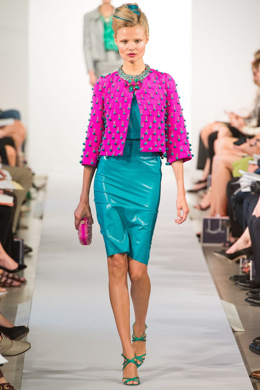 Oscar de la Renta Spring 2013 Ready-to-Wear Fashion Show - Magdalena Frackowiak