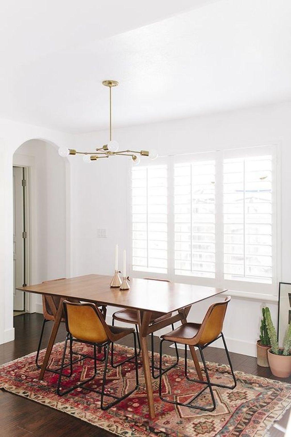40 Stunning Modern Minimalist Home Decor Ideas Classic Dining