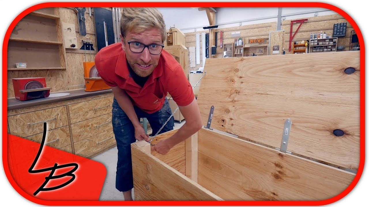 Holzkiste Selber Machen So Gehts Schnell Einfach Lets Bastel In 2020 Holzkisten Selber Machen Holz Holz