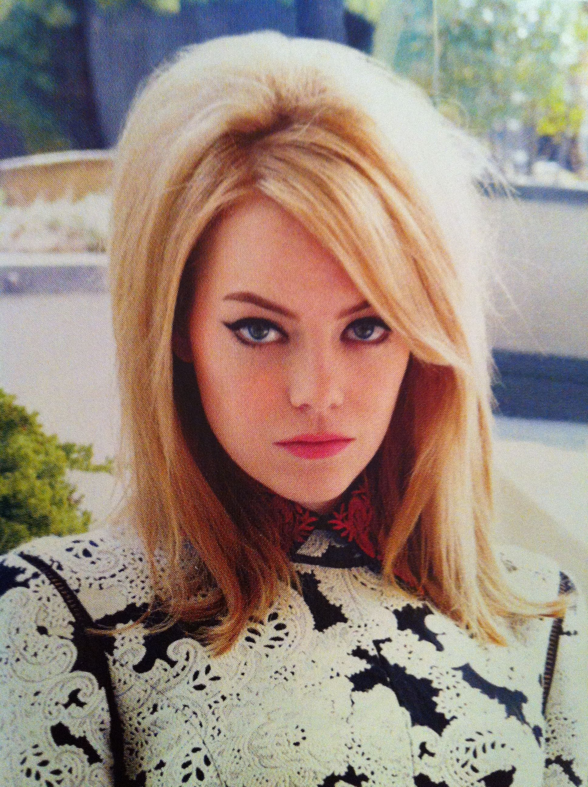 Emma Stone - Vogue UK - August 2012