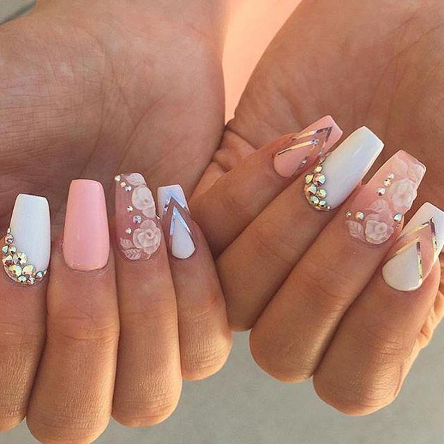 Resultado de imagen para uñas esculpidas para 15 años | Uñas ...
