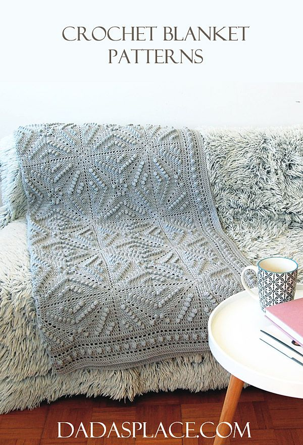 Crochet Blanket Patterns by Dada's place