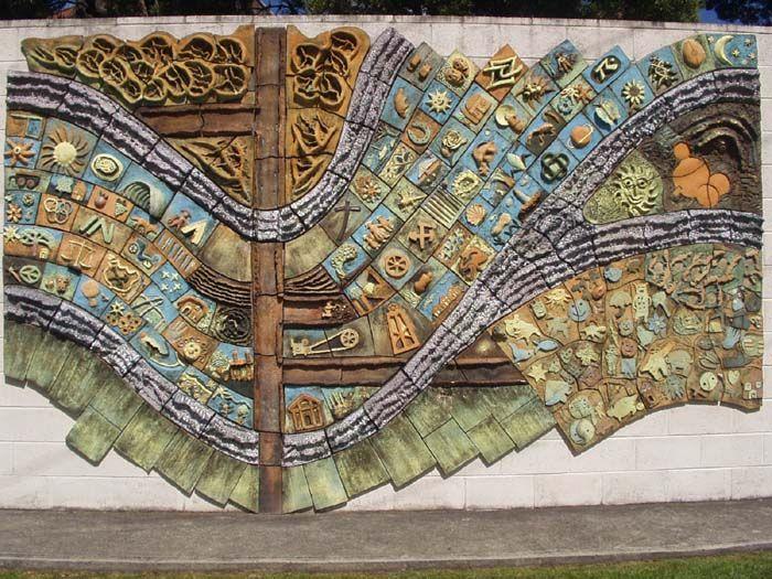 Beaconsfield Ceramic Mural Guest Artist Ideas Ceramics