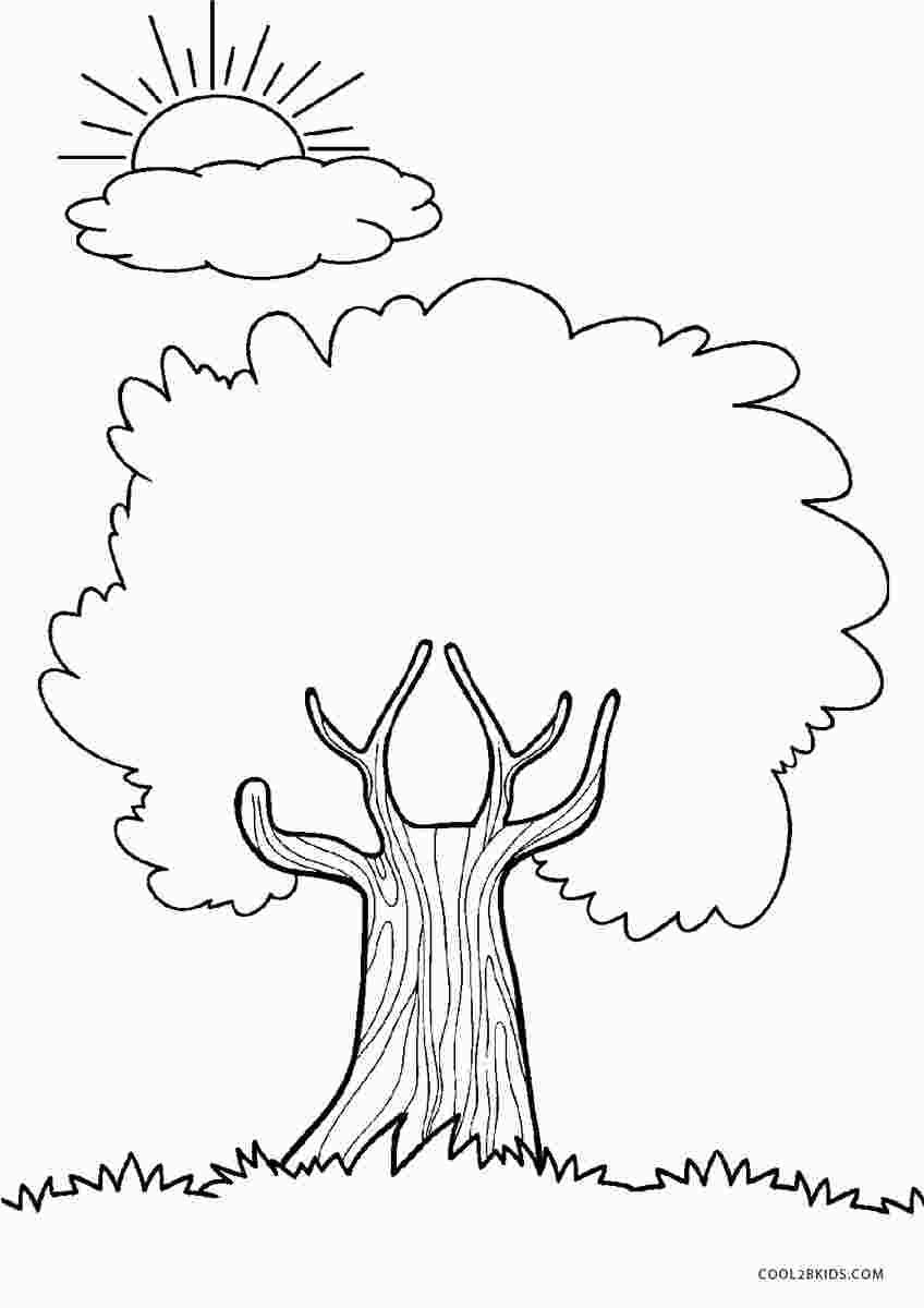 Tree Coloring Pages - GetColoringPages.com | 1200x848