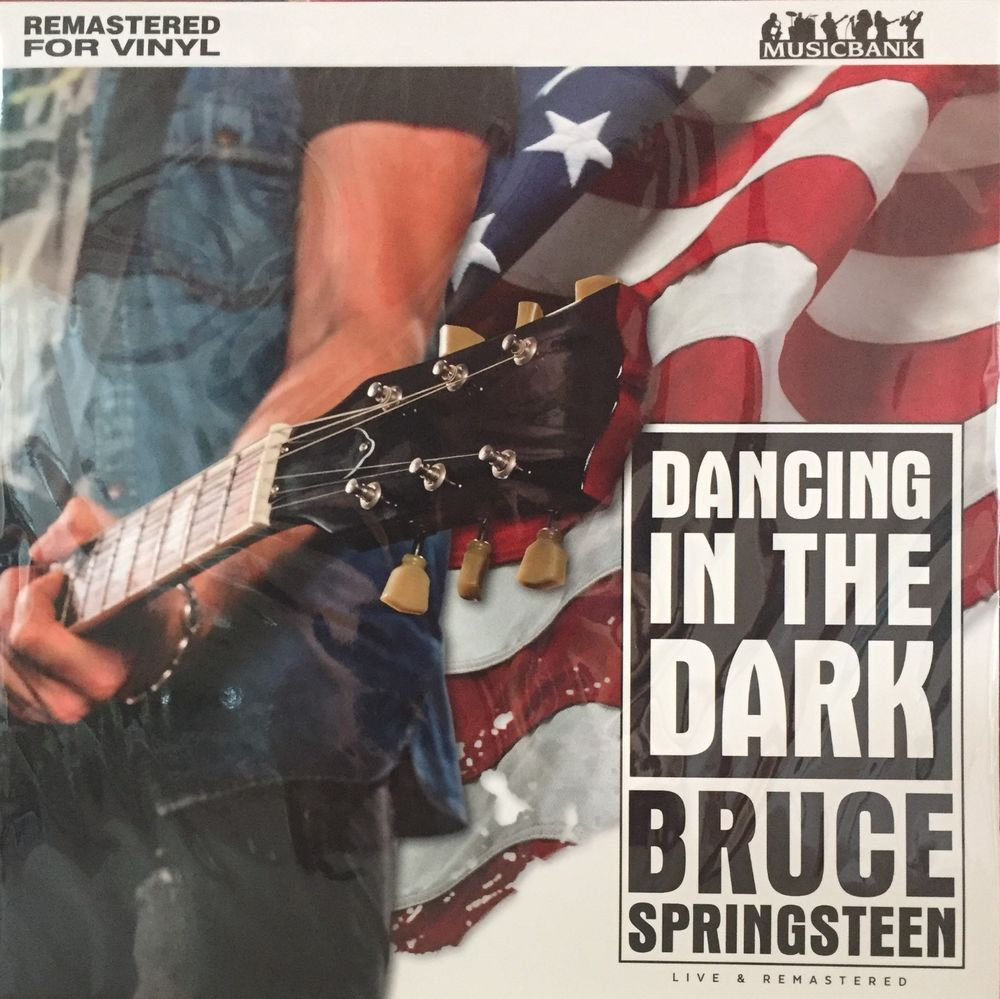 BRUCE SPRINGSTEEN Dancing In The Dark LP Live UK Import