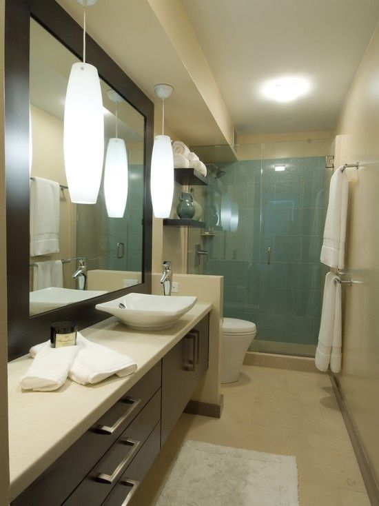 Kmph840 a whole bathroom design and inspirations ideas for Long bathroom designs