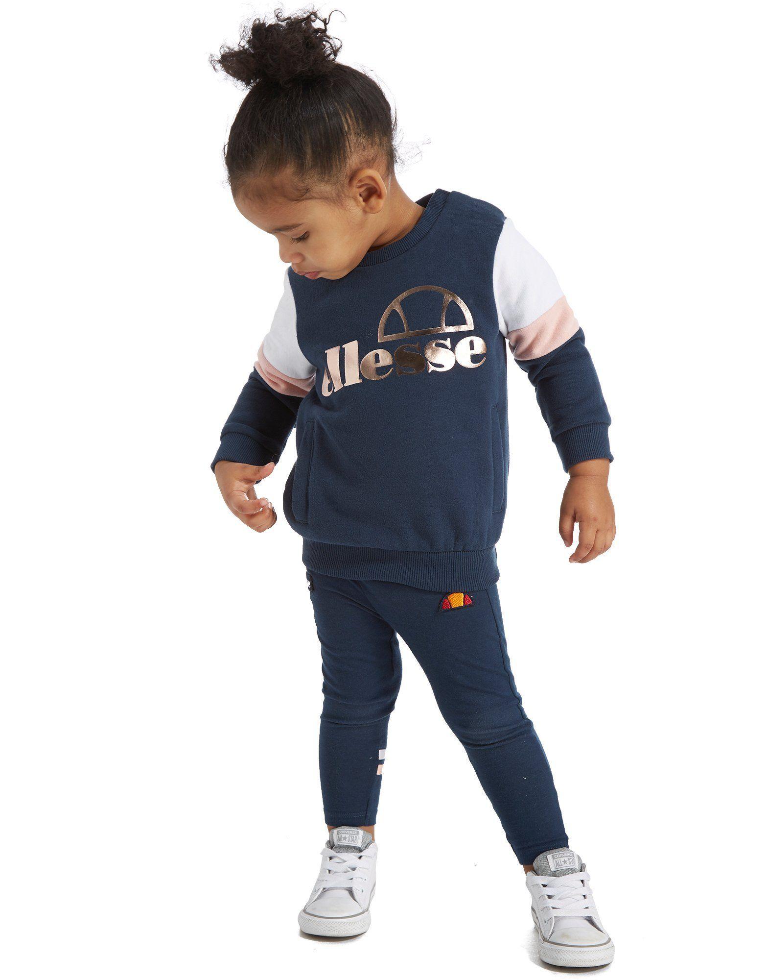 eb13fd4f Ellesse Girls' Monarca Set Infant - Shop online for Ellesse Girls' Monarca  Set Infant with JD Sports, the UK's leading sports fashion retailer.