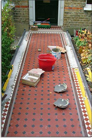 Mosaic Tiles Outdoor
