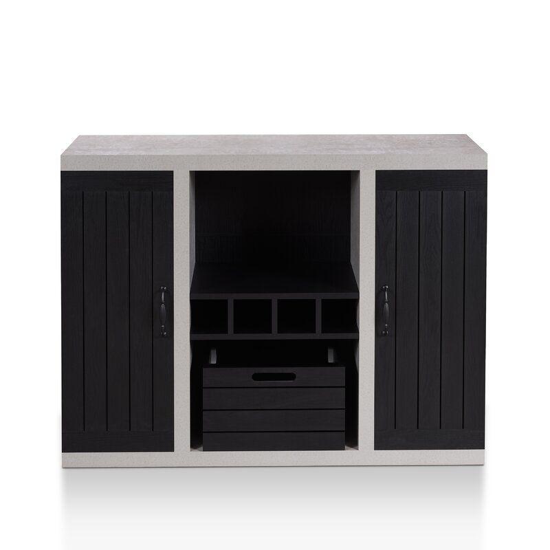 Heffernan Sideboard Furniture Of America Furniture Wine Storage