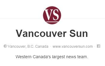 Vancouver Sun | Pinterest Account | Western Canada's largest news team