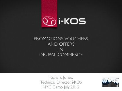 Promotions Vouchers and Offers in Drupal Commerce by nyccamp, via - creating vouchers