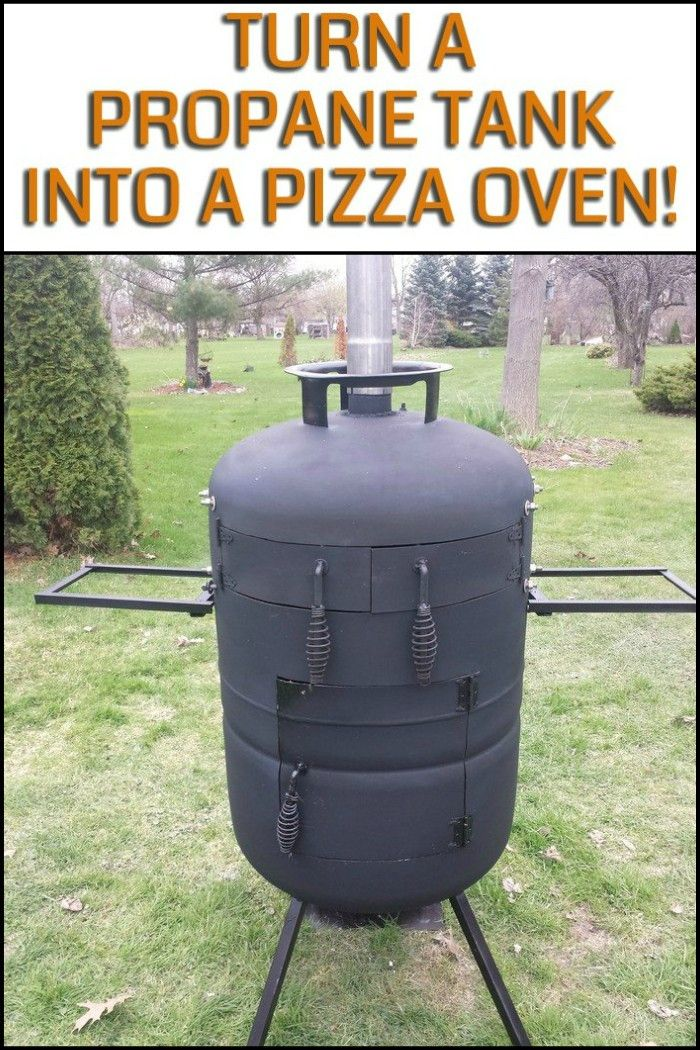 Enjoy Freshly Baked Homemade Pizza by Turning a Propane