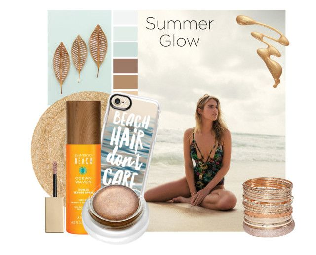 """""""Beach Hair"""" by mm-roberts on Polyvore featuring beauty, Eugenia Kim, Heller, Casetify, Stila, Alterna, rms beauty and Avenue"""