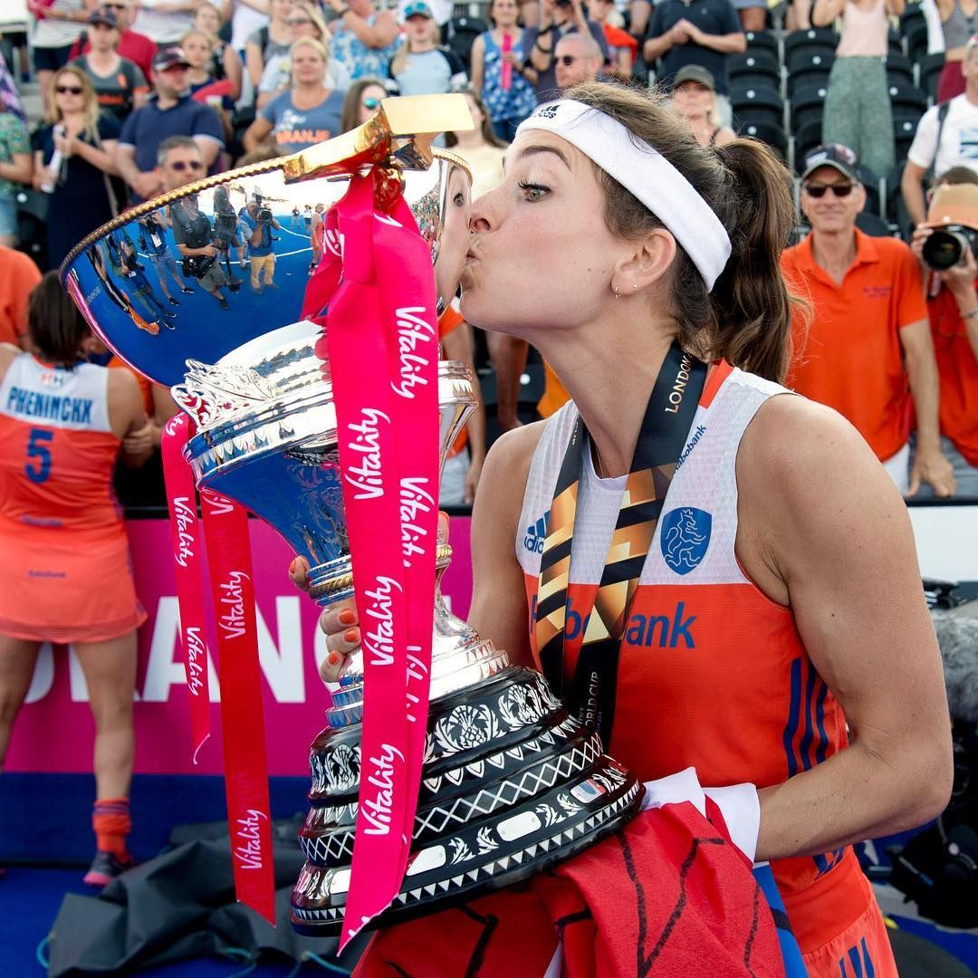 Adidas Field Hockey On Instagram Eva So Good Fih Player Of The Year World Cup Winner Champio Field Hockey Champions Trophy Hockey World Cup