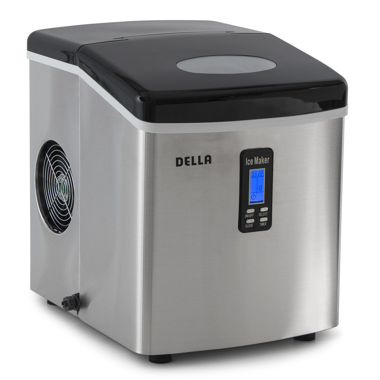 Della 048 Gm 48292 Electric Ice Maker Machine Counter Top Timer