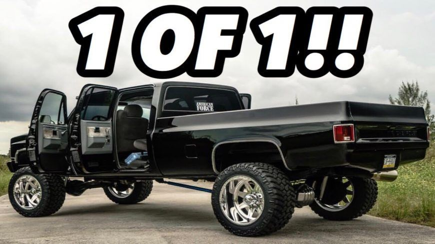 Classic Style With Modern Grunt Duramax Swapped Crew Cab Square Body Trucks Lifted Trucks Square Body
