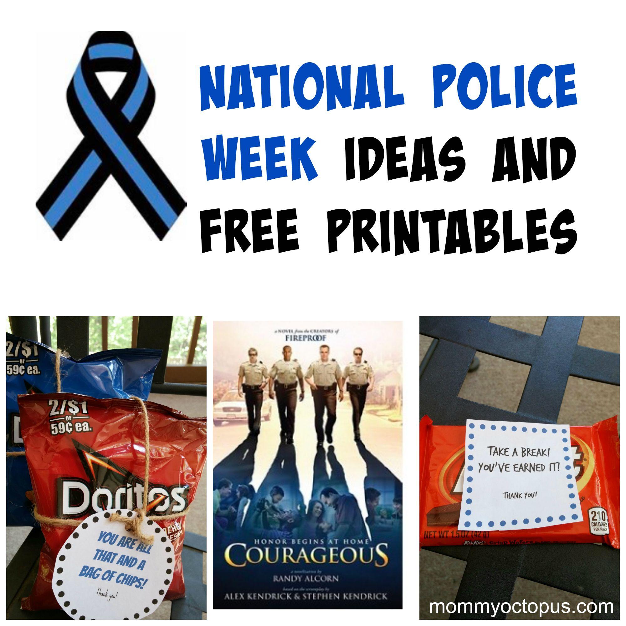 Law Enforcement Week Gift Ideas – Gift Ftempo