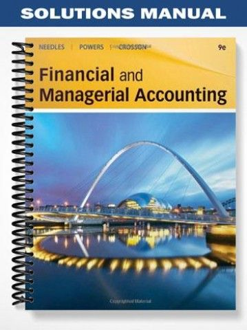 Solutions manual financial managerial accounting 9th edition solutions manual financial managerial accounting 9th edition needles at httpsfratstock fandeluxe Gallery
