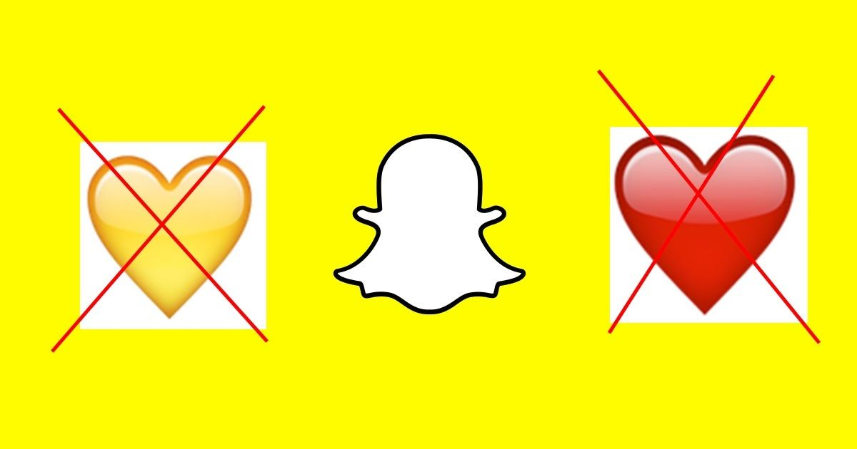 Why Do Yellow Heart Emoji Disappeared On Snapchat Or The Red
