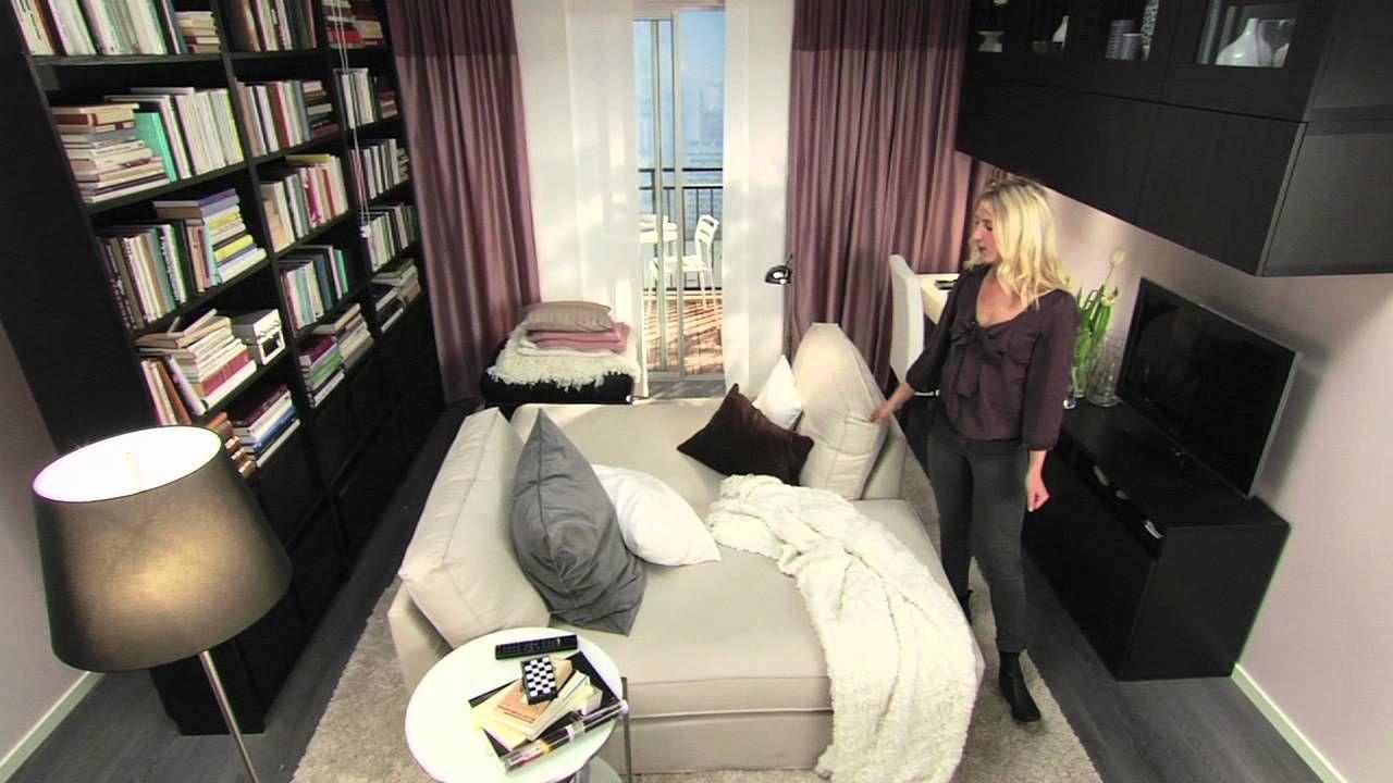 Wunderbar IKEA Für Kleine Räume: 10 M² Mehr Zweisamkeit   YouTube