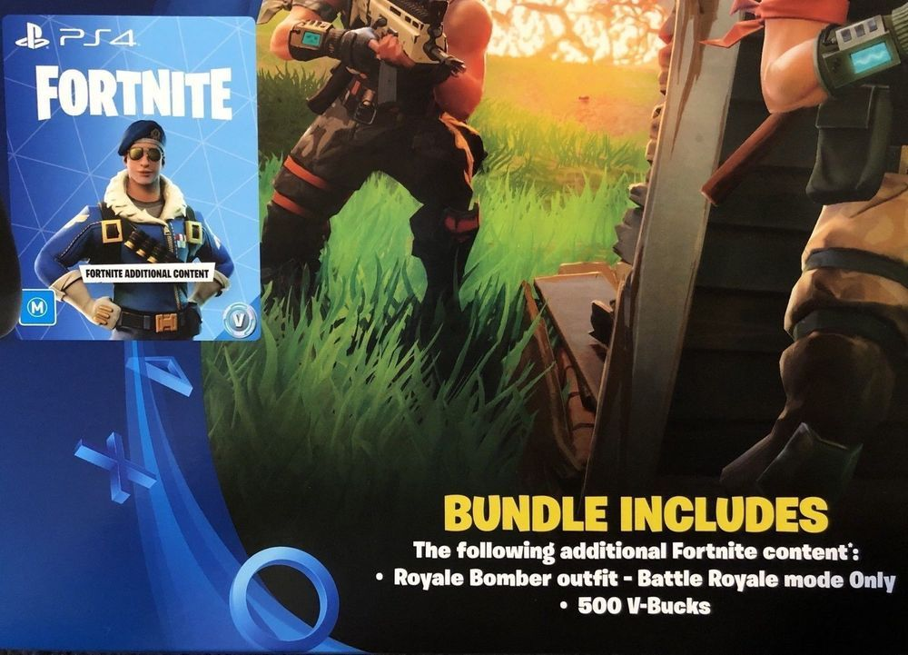 Region Locked Fortnite Royale Bomber Outfit Skin 500 V Bucks Ps4