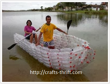 Make a Boat Out of Plastic Bottles | Recycle Crafts Tips