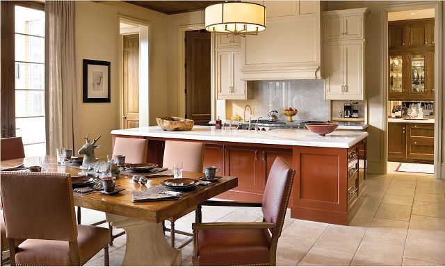 Awesome home interior design ideas stunning kitchen solid wood table also rh pinterest