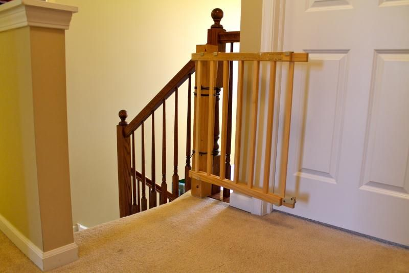Baby Gates For Stairs For Baby Safety Home Remodeling Pinterest