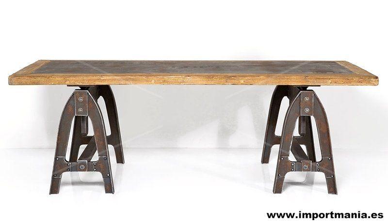 Mesa escritorio hierro madera muebles chinos muebles for Muebles chinos online