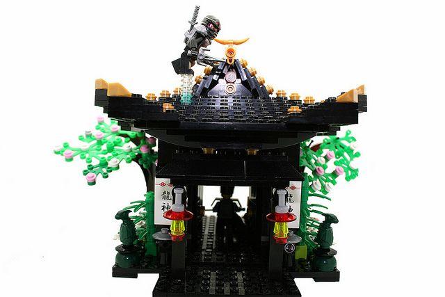 Ninja Flying Over The Roof Lego City Lego Architecture Lego