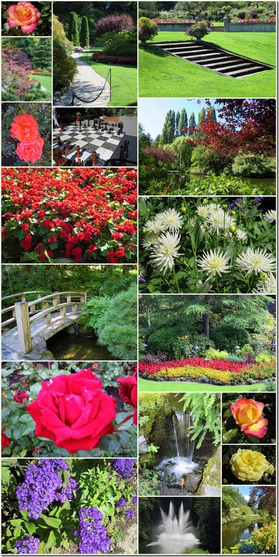 Explore the Butchart Gardens on one of our Canada & Alaska