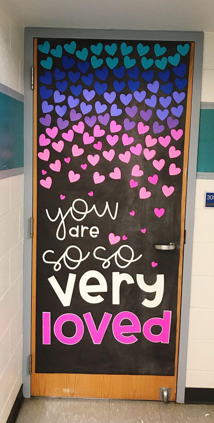 February Door Decoration Set | School door decorations ...