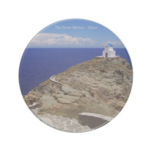 The Seven Martyrs – Sifnos Beverage Coasters