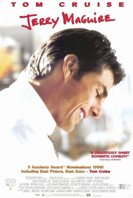 Details About 1996 Jerry Maguire Reproduction 27 X 40 Movie