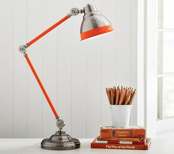 Jumbo jordan task lamp pottery barn kids