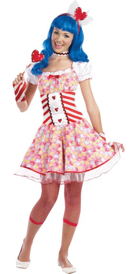 Heart Candy Costume for Teen Girls - Halloween City | Halloween ...
