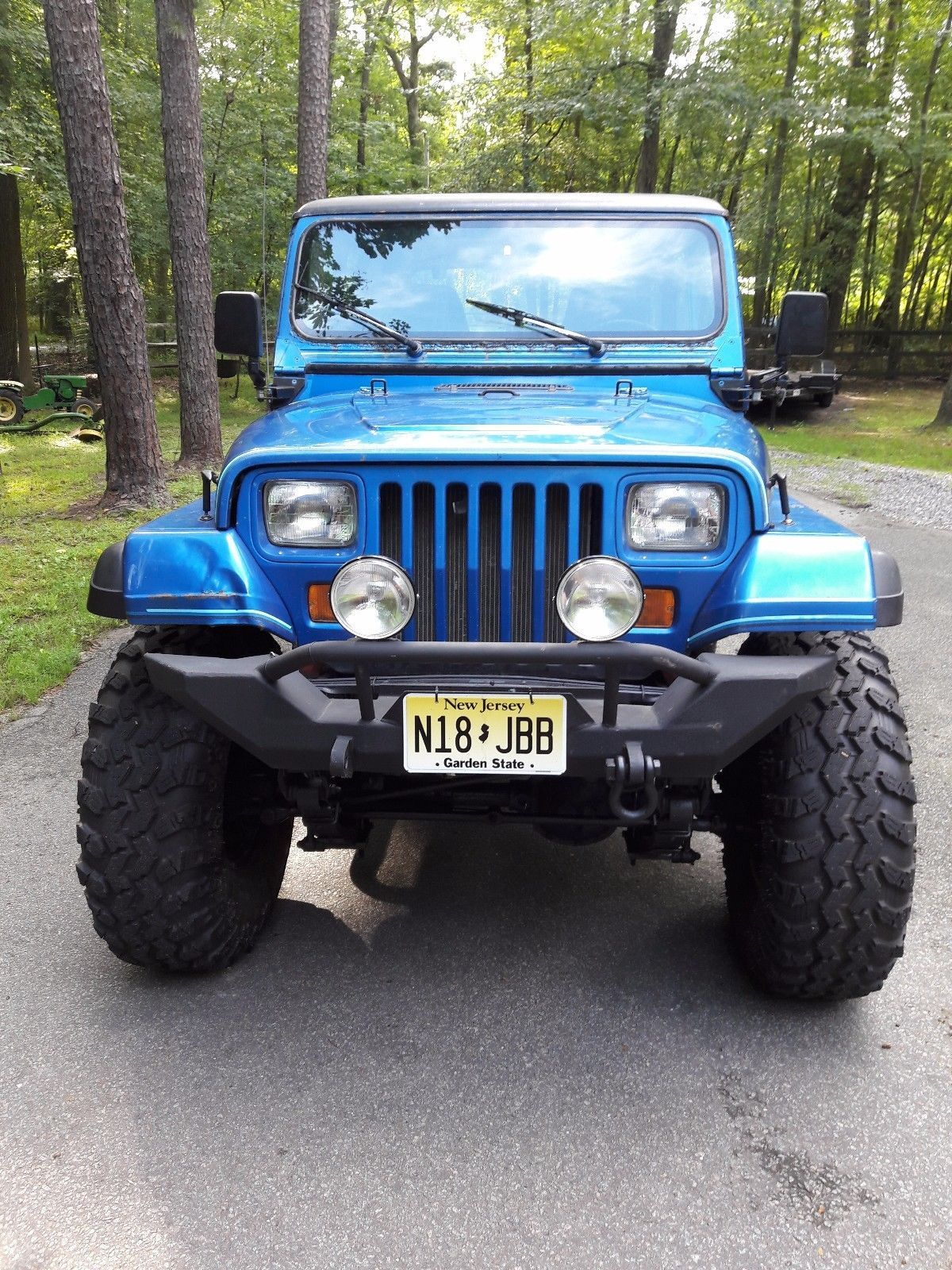 Ebay 1993 Jeep Wrangler Yj 1993 Jeep Wrangler Yj Lifted On 37 Super Swampers Wife Says Sell Jeep Jeeplife Jeep Wrangler Yj Jeep Wrangler Jeep Lover