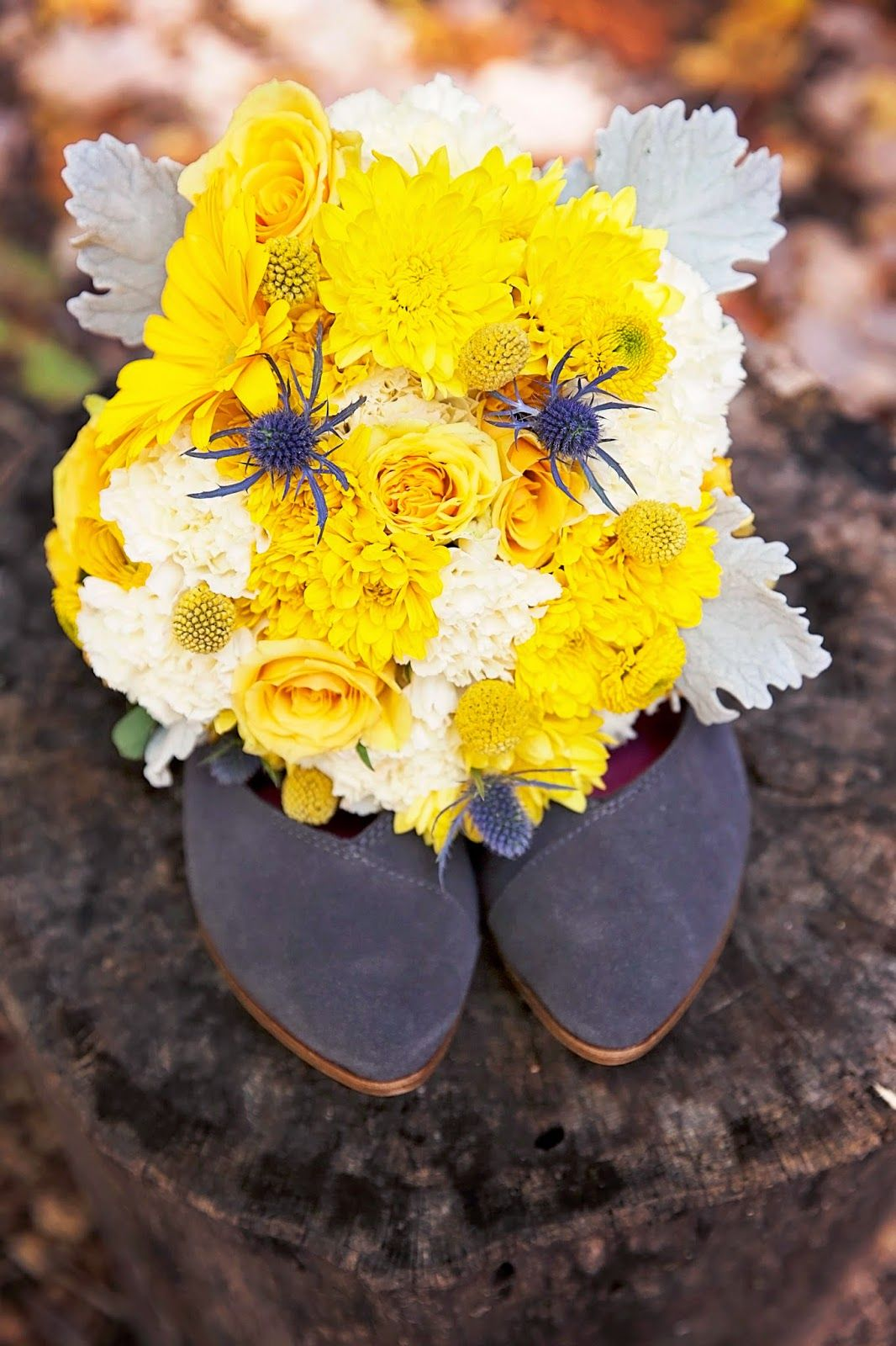 Wedding shoes Toms Gorgeous grey and yellow wedding bouqet ...