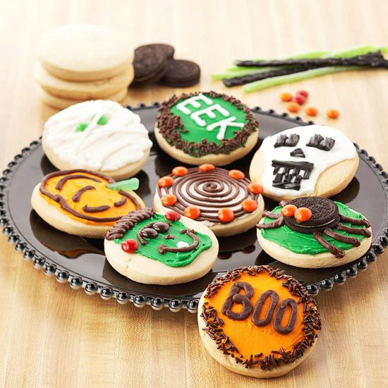 halloween cookies easy ways to decorate