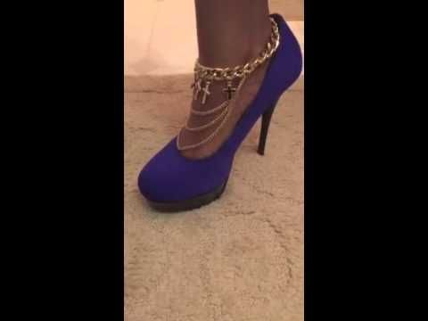 2015 Summer Fashion Accessories - Dasia Anklet Great for date night! #summeraccessories #heels