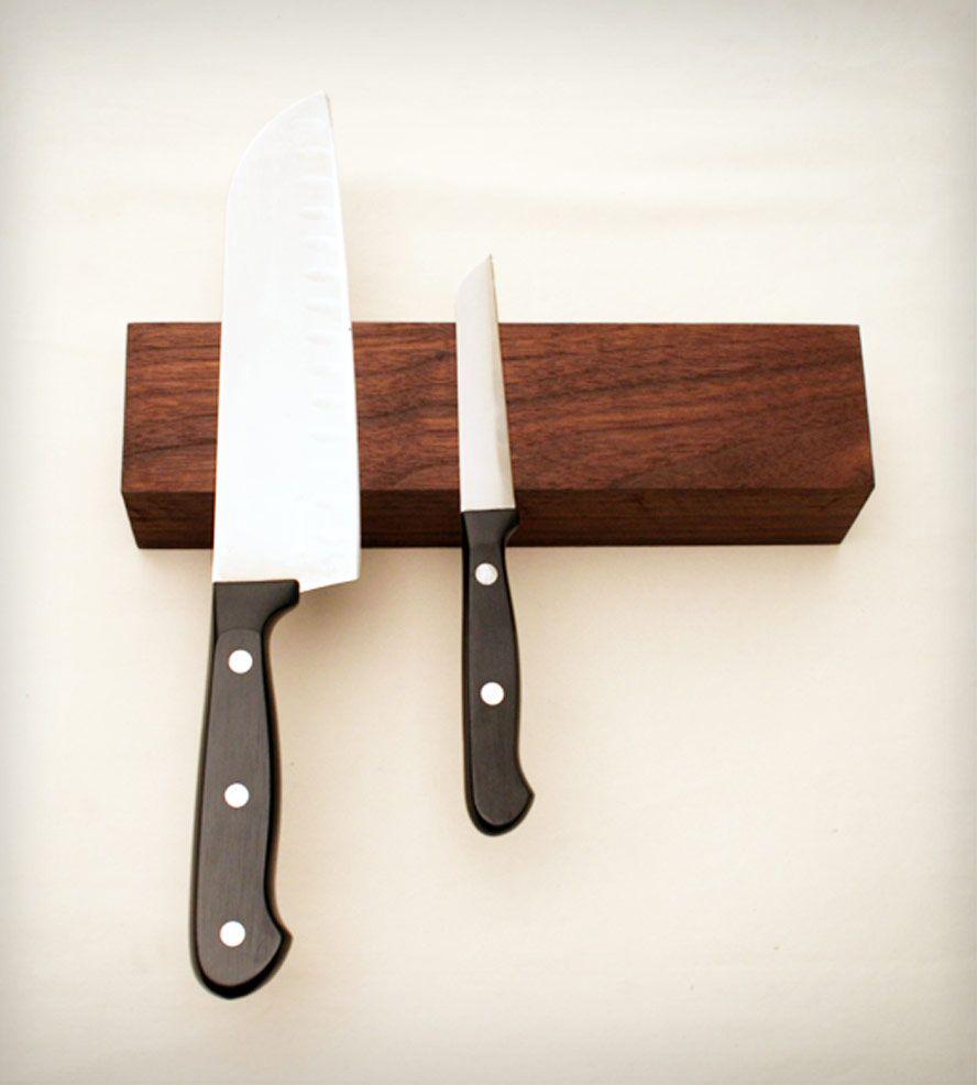 Magnetic wall knife rack cosas de cocina regalos - Cosas de cocina originales ...