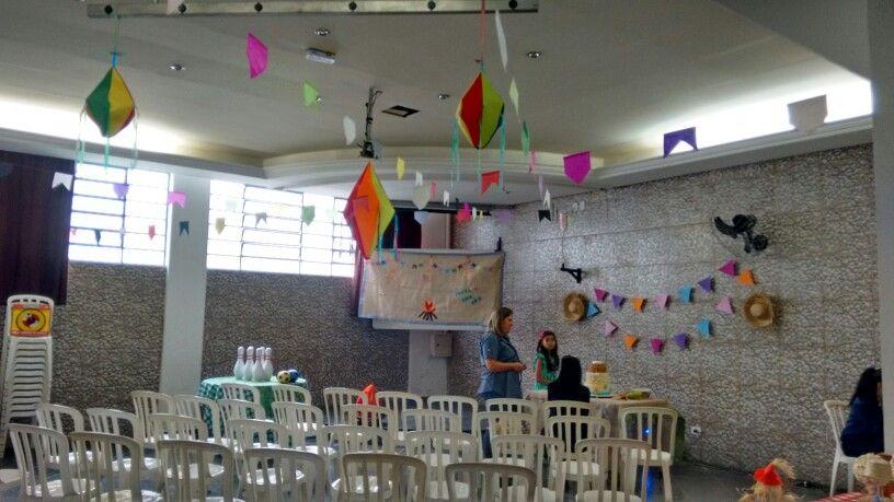 Salão da Festa Junina