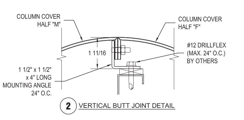 Metal column covers beam wraps saf southern aluminum